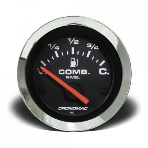 Indicador de Nível de Combustivel  - Linha Croma Preta