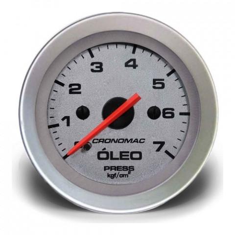 Manômetro de Pressão de Óleo Mec. - Linha Racing