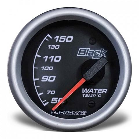 Termômetro Elétrico 60mm de Água - Linha Black Series