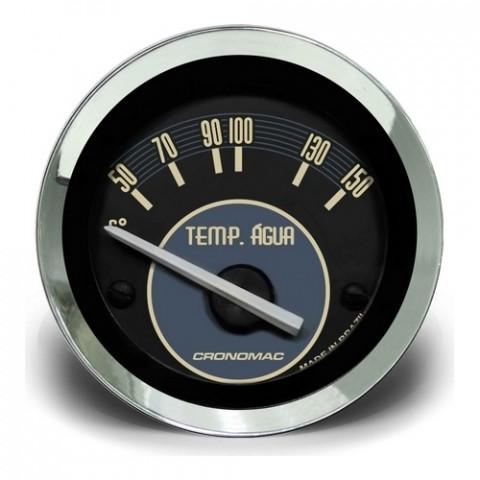 Termômetro Elétrico Água 52mm - Linha Volks Bege