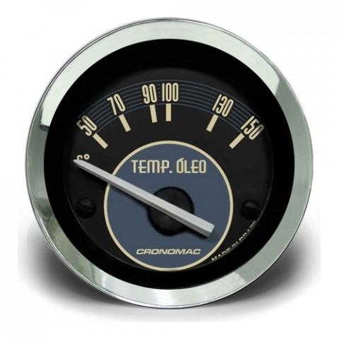 Termômetro Elétrico Óleo 52mm - Linha Volks Bege