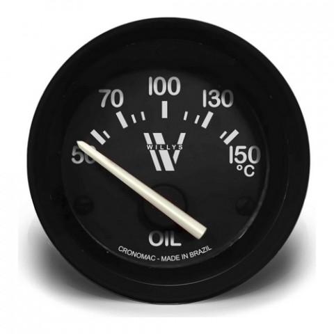 Termômetro Elétrico Óleo 52mm - Linha Willys
