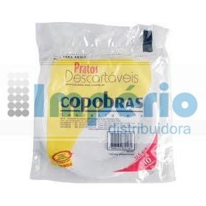 PRATO PLASTICO 15 CM C/10 COPOBRAS