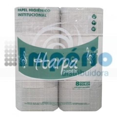 PAPEL HIG.  BIG 200m x 10cm - C/8 FS HARPA D5,5