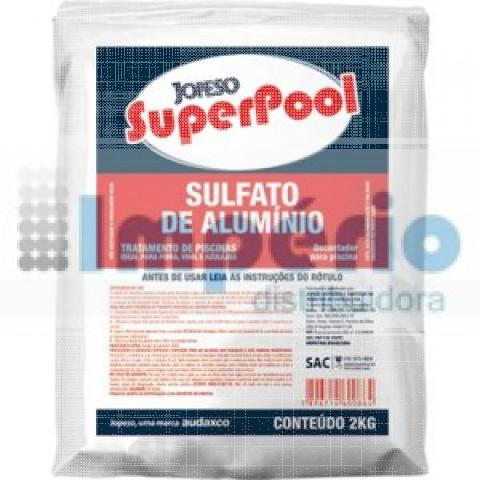 SUPERPOOL SULFATO DE ALUMINIO 2 KG.