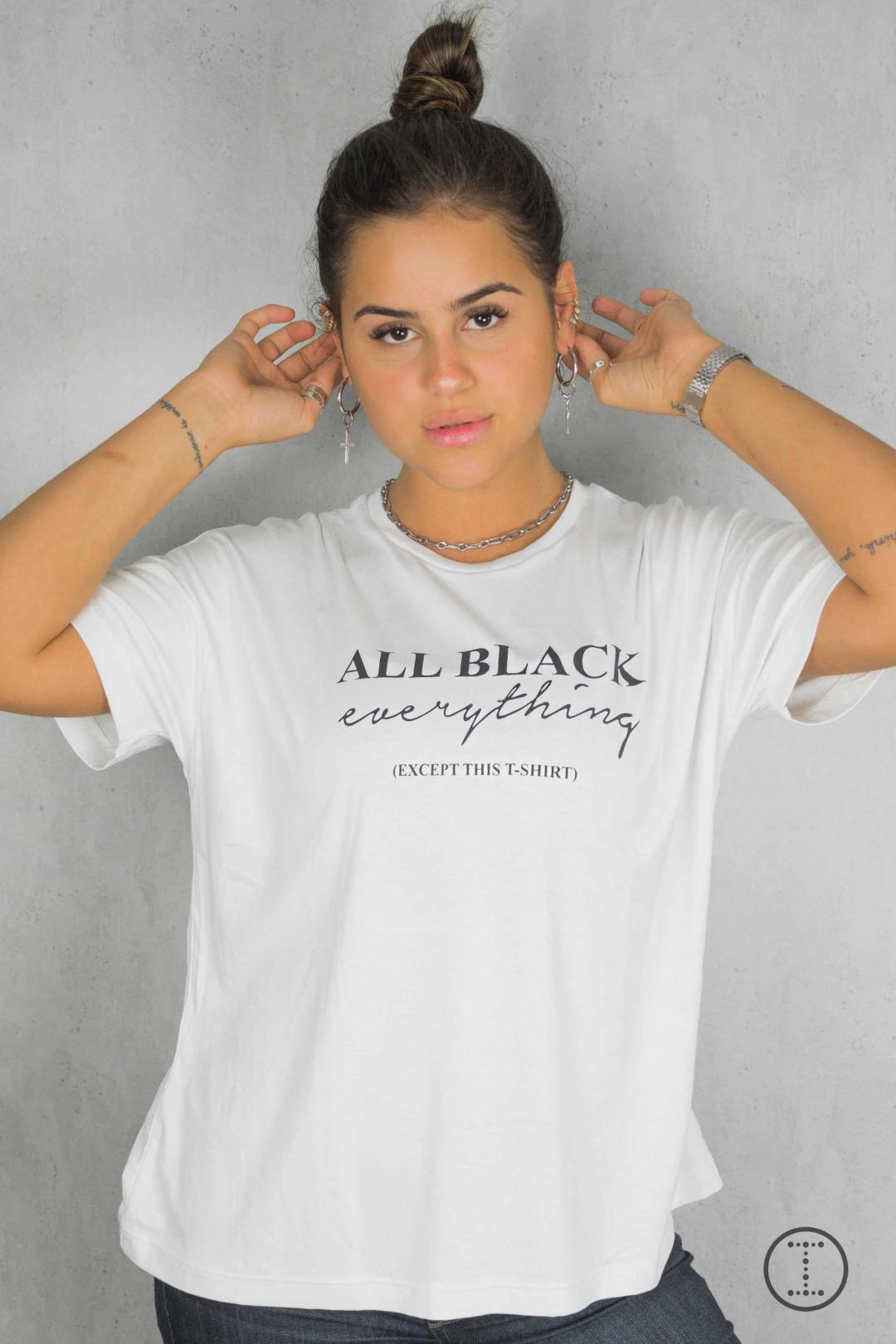 CAMISETA ALL BLACK EVERYTHING BRANCA