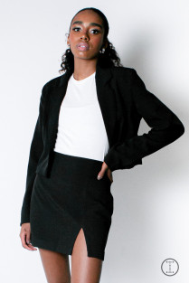 BLAZER CROPPED HOLLY
