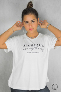 CAMISETA ALL BLACK EVERYTHING BRANCA