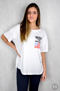 TSHIRT YEEZY FOR PRESIDENT