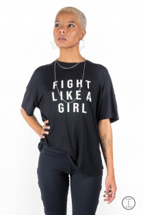 CAMISETA GIRL POWER FIGHT LIKE A GIRL