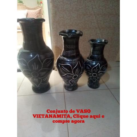 Vaso vietnamita para ornamentação de ambiente
