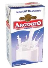 LEITE ARGENZIO DESNATADO 1L