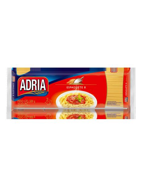 MACARRAO COM OVOS ESPAGUETE 8 ADRIA 500g