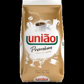 ACUCAR REFINADO GRANULADO  PREMIUM UNIAO PACOTE 1 Kg