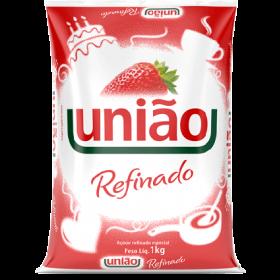 AÇUCAR REFINADO UNIAO PACOTE 1 Kg
