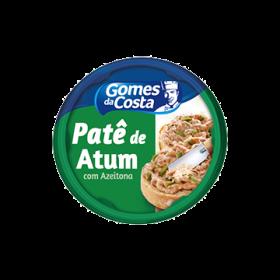 PATE DE ATUM COM AZEITONA GOMES DA COSTA 150g