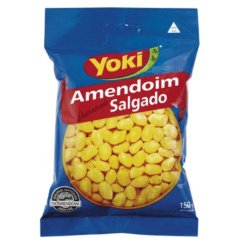 AMENDOIM SEM CASCA YOKI 150g