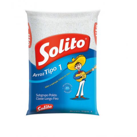 ARROZ BRANCO TIPO 1 SOLITO 5Kg