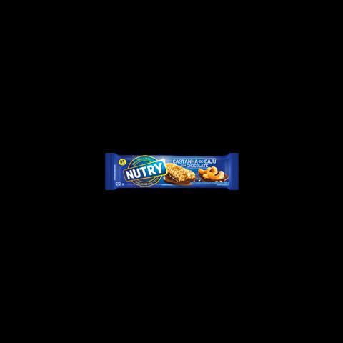 BARRA DE CEREAL NUTRY CASTANHA DE CAJU E CHOCOLATE 3x22g