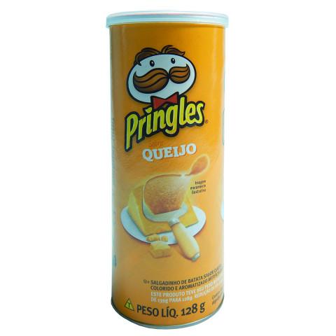 Batata Frita Pringles Queijo Lata 128g