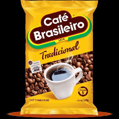 CAFE BRASILEIRO TRADICIONAL 500g