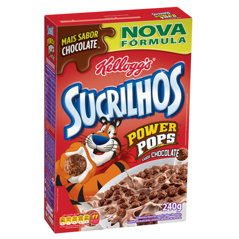 CEREAL MATINAL SUCRILHOS KELLOGG'S CHOCO POWER 240g