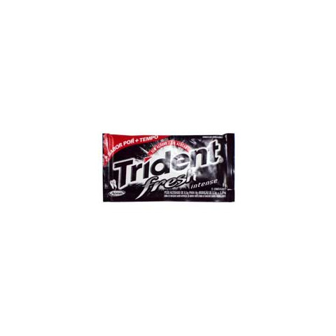 CHICLETE TRIDENT FRESH INTENSE 8G