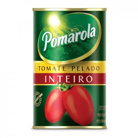 TOMATE PELADO INTEIRO POMAROLA 240g