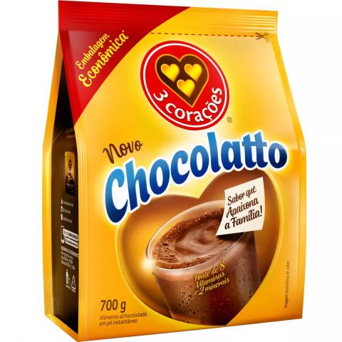 ACHOCOLATADO EM PO CHOCOLATTO 700g