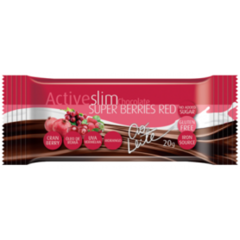 ACTIVESLIM SUPER BERRIES RED AO LEITE