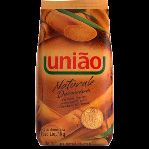 ACUCAR DEMERARA NATURALE UNIAO PACOTE 1 Kg
