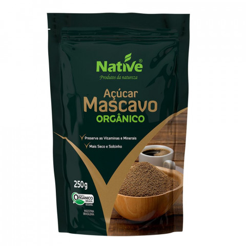 ACUCAR ORGANICO MASCAVO NATIVE 250g