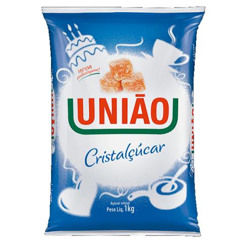 ACUCAR CRISTALCUCAR UNIAO 1Kg