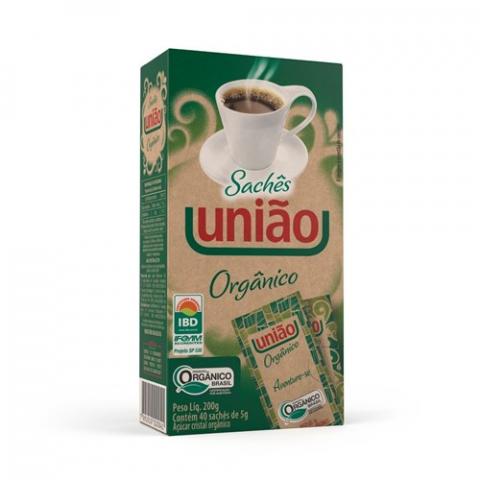 ACUCAR ORGANICO SACHE UNIAO 200g