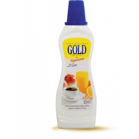 ADOCANTE LIQUIDO ASPARTAME GOLD 65ml