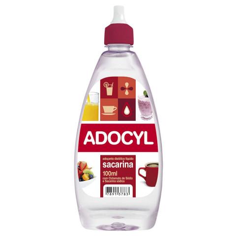 ADOCANTE LIQUIDO SACARINA ADOCYL 100ml
