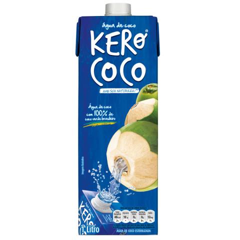 ÁGUA DE COCO KERO COCO 01 Litro