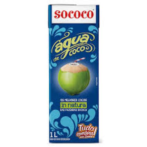 ÁGUA DE COCO SOCOCO 01 Litro