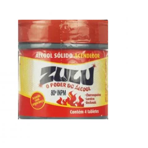 ALCOOL SOLIDO ACENDEDOR ZULU 60g