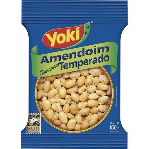 Amendoim Salgado Temperado Yoki 150g