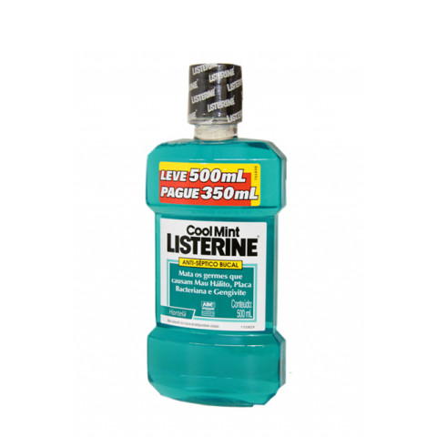 ANTI-SEPTICO BUCAL LISTERINE COOL MINT 500 ml