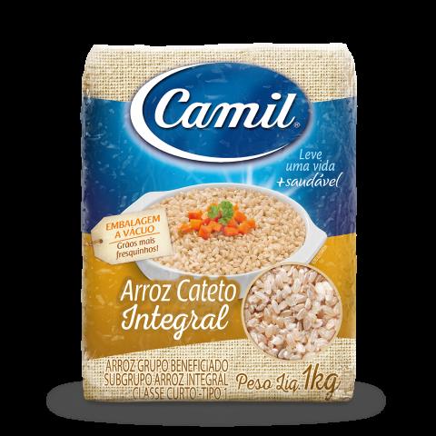 ARROZ CATETO INTEGRAL CAMIL 1kg