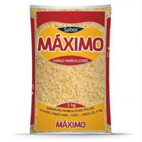ARROZ PARBOILIZADO SABOR MAXIMO 5kg