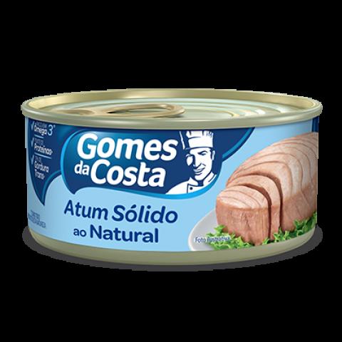 ATUM SOLIDO AO NATURAL GOMES DA COSTA 170g