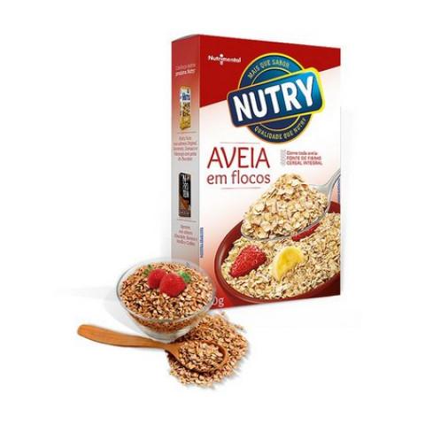 AVEIA EM FLOCOS NUTRY 170g