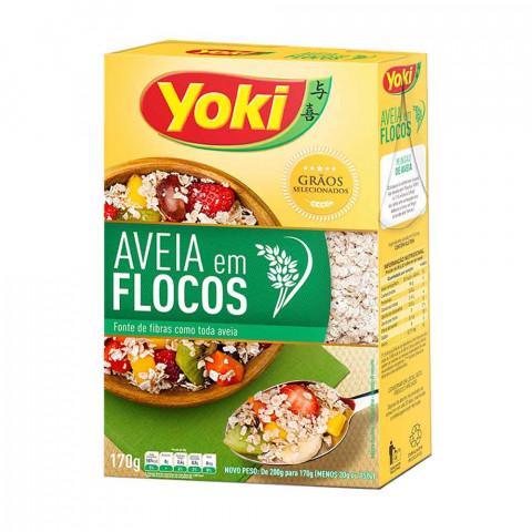 AVEIA EM FLOCOS YOKI 170g