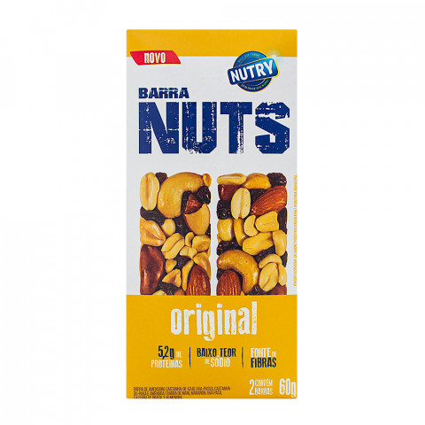 BARRA DE CEREAL NUTRY ORIGINAL 3x30g