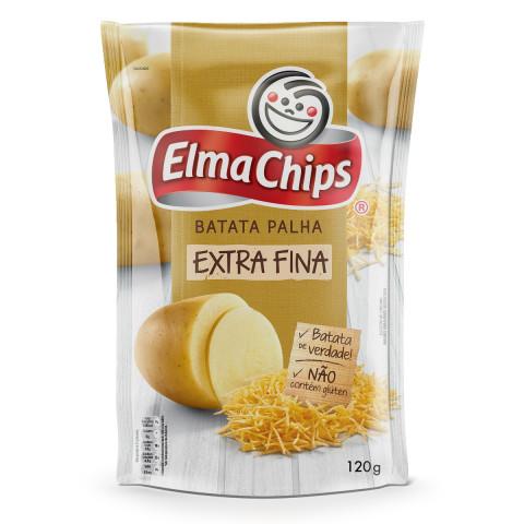 Batata Palha Frita Elma Chips Extra Fina 120g