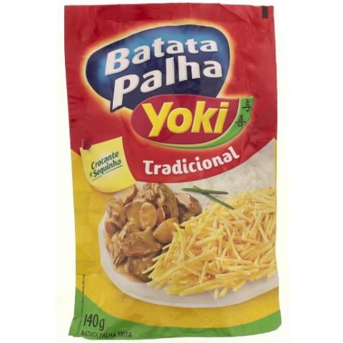Batata Palha Frita Yoki 140g