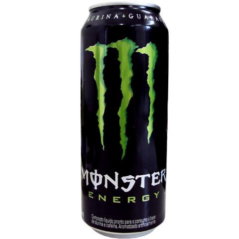Bebida Energética MONSTER Lata 473ml